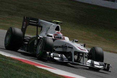 GP de Gran Bretaña 2010: carrerón de Kamui Kobayashi (II)