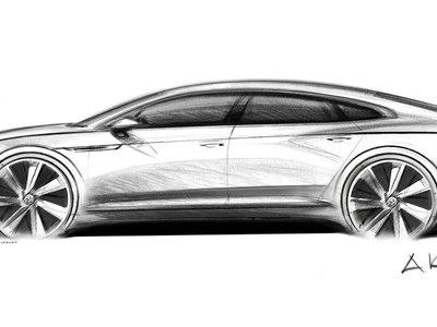 Así de elegante es la silueta del Volkswagen Arteon, el esperado sucesor del CC