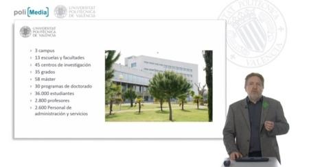 La Universidad Politécnica de Valencia comienza a impartir cursos online gratuitos