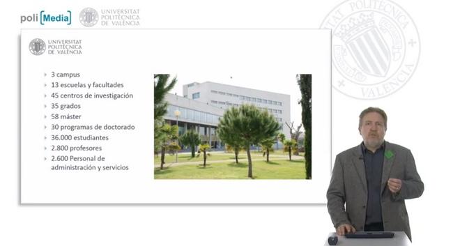 La universidad polit cnica de valencia comienza a impartir for Universidad de valencia online