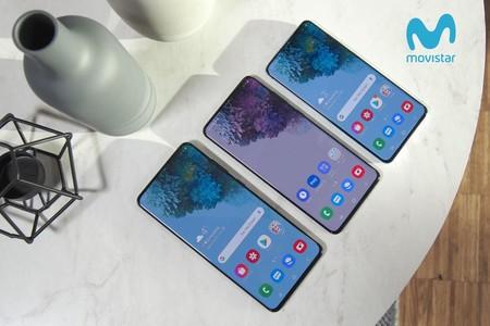 Precios Samsung Galaxy S20, S20+ y S20 Ultra con tarifas Movistar