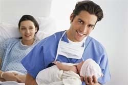 Cortar el cordón umbilical, una posibilidad para el padre