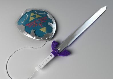 Wii Controller Zelda Edition
