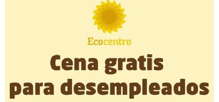 'Ecocentro' vuelve a ofrecer 100 cenas gratis para desempleados el 18 de febrero