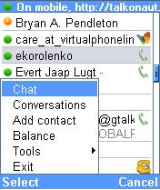 Talkonaut, Google Talk en tu móvil