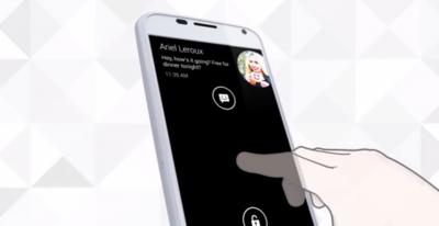 """Motorola actualiza desde el Google Play """"Pantalla Activa"""" con opción para desactivar la vibración"""