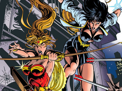'Wonder Woman: El torneo' y 'Segunda génesis', dos modos de tratar a la Amazona