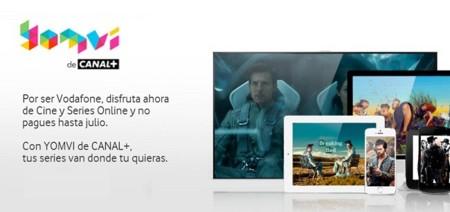 Vodafone promociona su acuerdo con Canal+ con dos meses de cine, series y fútbol gratis