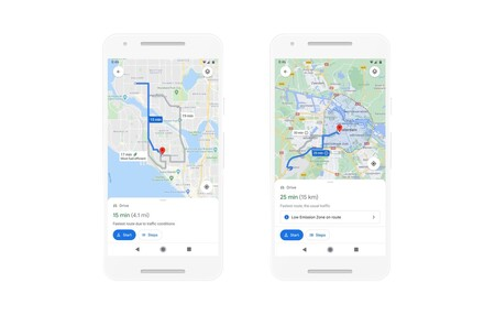 Google Maps Ruta Combustible