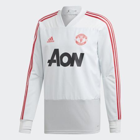 Sudadera Entrenamiento Manchester United Gris Dp6825 01 Laydown