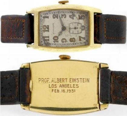 La exclusiva subasta del reloj de Albert Einstein