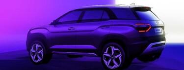 El Hyundai Alcazar adelanta su diseño: el Creta para siete pasajeros está por llegar