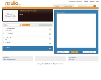 Neulio, una forma sencilla y eficaz de crear cursos online multimedia