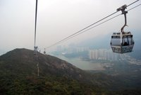 El teleférico Ngong Ping 360 de Hong Kong