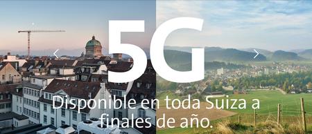 5G en Suiza