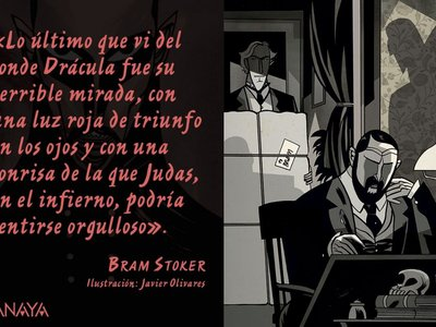 Javier Olivares ilustra el 'Drácula' de Bram Stoker