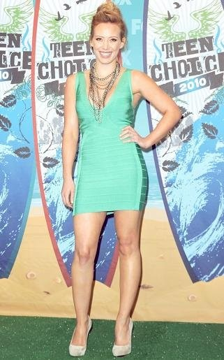La Alfombra Roja de los Teen Choice Awards 2010