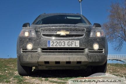 Chevrolet Captiva Sport VCDi, prueba (parte 3)