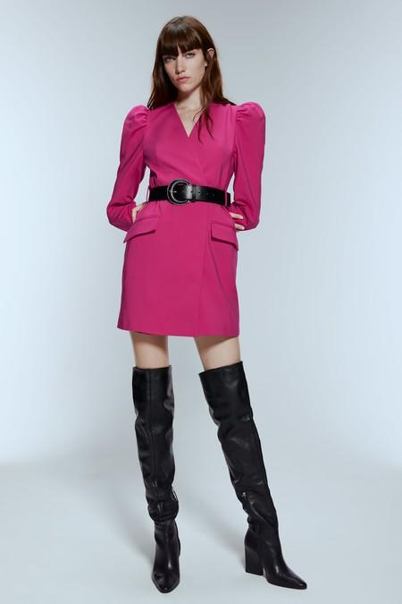 Vestido Fucsia Zara 02