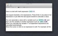 Expresso, un editor de texto que además hace cálculos matemáticos