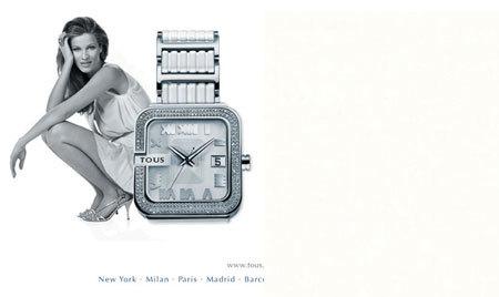 Reloj blanco de Tous