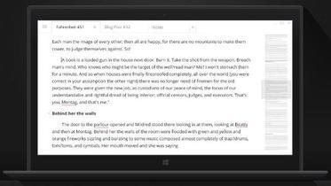 Write!, la mejor forma de escribir sin distracciones en el escritorio. La aplicación de la semana