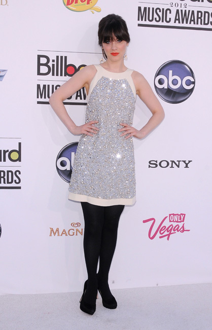zooey deschanel premios billboard
