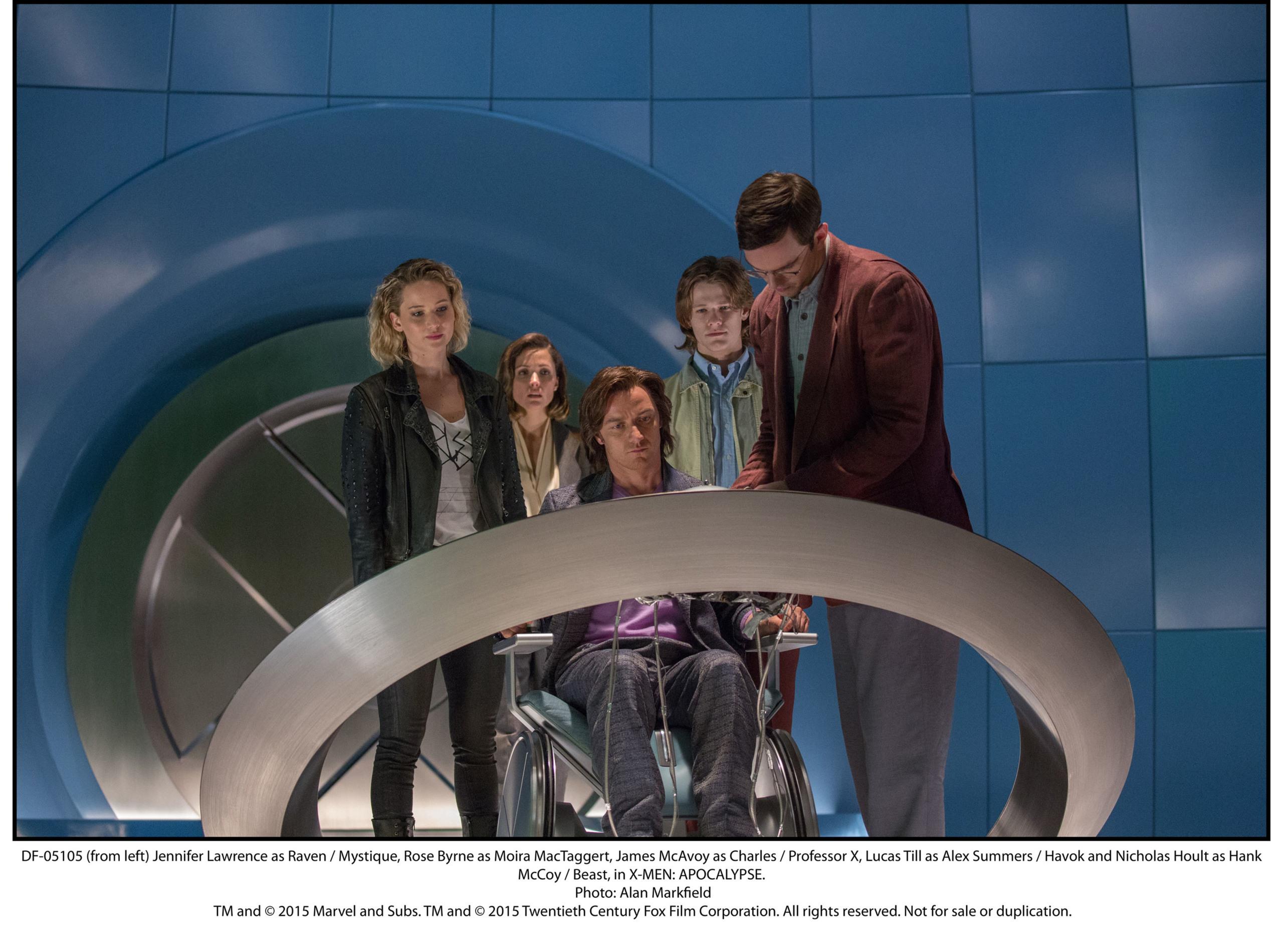 Foto de 'X-Men: Apocalypse', nuevas imágenes oficiales (12/17)