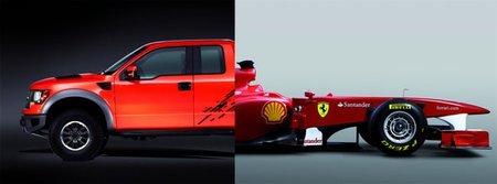 A Ford no le gusta que Ferrari haya utilizado el nombre de F150