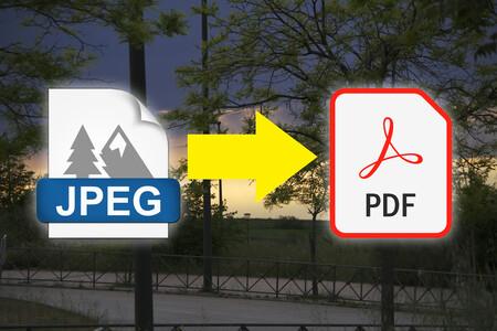 Cómo convertir una fotografía en un archivo PDF en cualquier dispositivo y de la manera más rápida, sencilla y efectiva