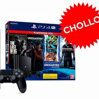 PcComponentes sube la apuesta: por 449,95 euros te deja la PS4 Pro con la saga Uncharted completa y The Last of Us remasterizado además de GT Sport, Horizon Zero Dawn y un headset de regalo
