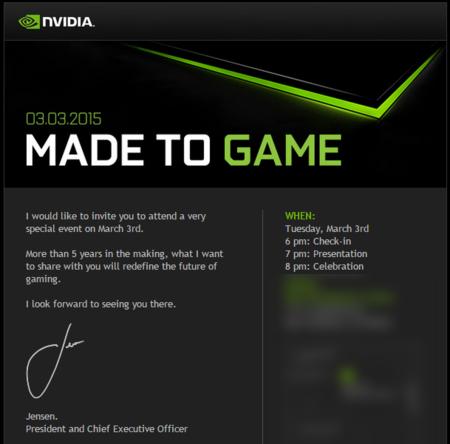 Nvidia Event