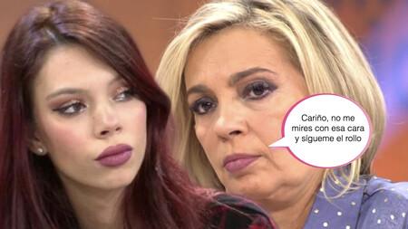 Carmen Borrego zanja la polémica: así es la relación que mantiene con su sobrina, Alejandra Rubio