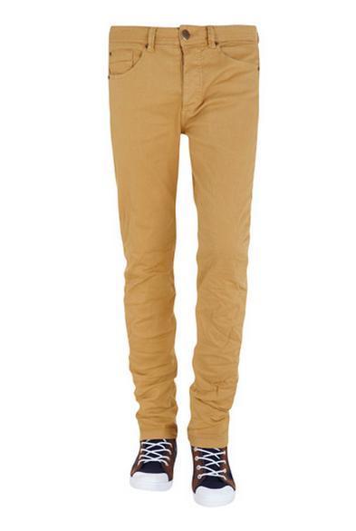 Pantalones chinos mostaza Suiteblanco SS 2013