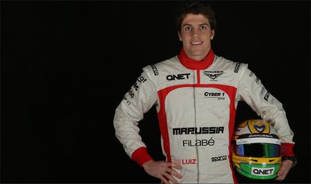 Luiz Razia confirmado como segundo piloto de Marussia F1 Team
