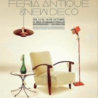 El planazo decorativo del finde: Lorenzo Castillo inaugura la Feria Antique & New Deco