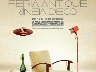 El planazo decorativo del finde: Lorenzo Castillo inaugura la Feria Antique & New Deco
