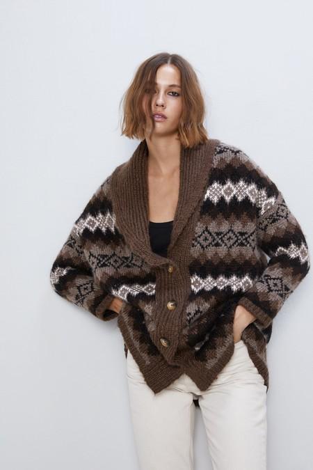 Cardigan Zara 2019 09
