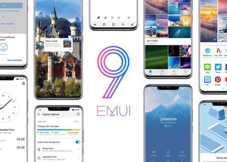 Huawei anuncia los teléfonos que tendrán gestos a pantalla completa con EMUI 9.0