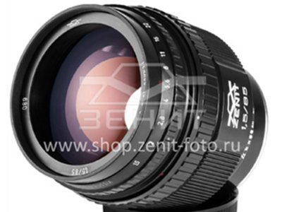 Zenit ya tiene lista su nueva óptica Helios 40-2H 85 mm f/1.5 para la montura Nikon F