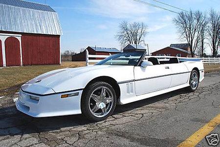 1987 Chevrolet Corvette Convertible 4-Door