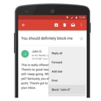 ¡Por fin! Ya podemos bloquear direcciones de correo directamente desde Gmail