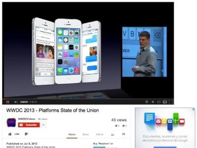Apple publica todas las sesiones del WWDC 2013 en YouTube [Actualizado: no son oficiales]