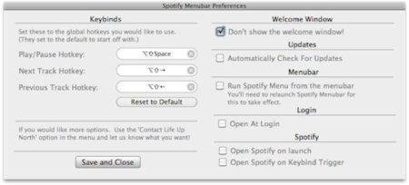 Spotify Menubar, soluciona de una vez los conflictos con iTunes