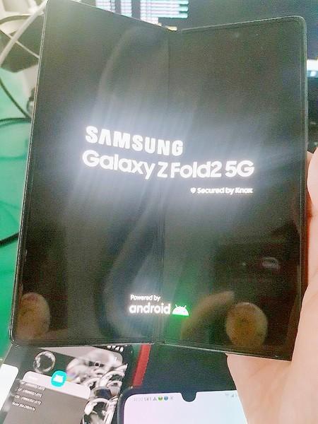 Samsung Galaxy Z Fold 2 Filtracion Foto Diseno