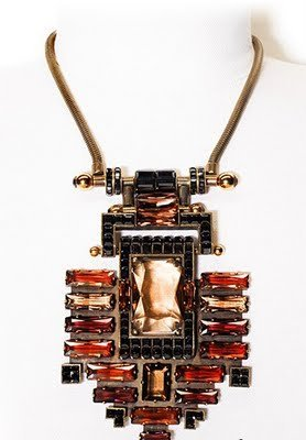 Lanvin Colección de Bisutería Otoño-Invierno 2011/2012: colgados estamos