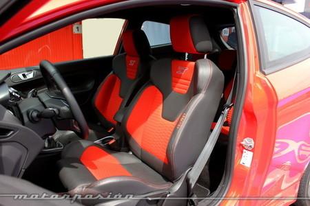Ford Fiesta ST 2013, asientos Recaro