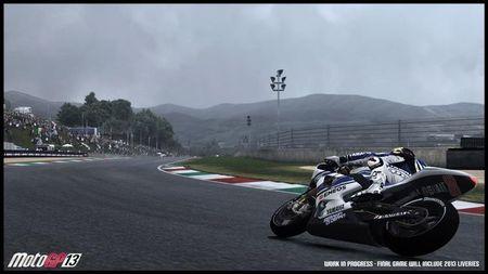 'MotoGP 13' deja clara su sensación de realismo en su primer vídeo con gameplay