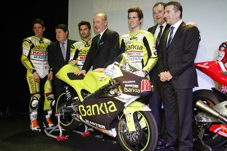 Presentados el MAPFRE Aspar Team Moto2 y el Bankia Aspar Team 125cc