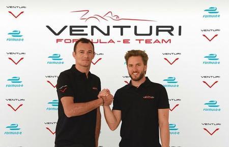 Nick Heidfeld y Stéphane Sarrazin, nuevos pilotos de Venturi Formula E Team